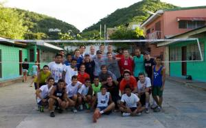 Sports Imports Volleyball Clinic Nicaragua