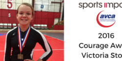 Volleyball Courage Award