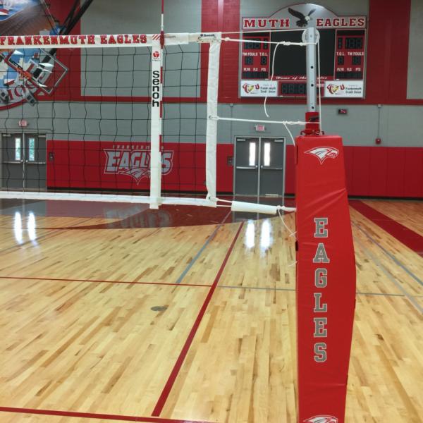 Aluminum Volleyball Pole Al7 Indoor Aluminum Volleyball