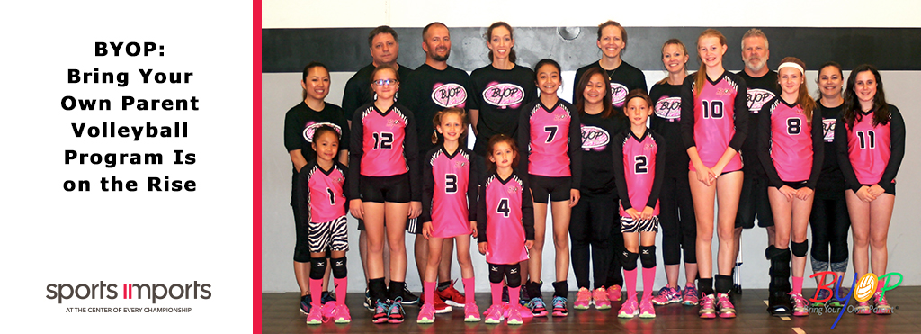 Youth Volleyball Program Bring Your Own Parent