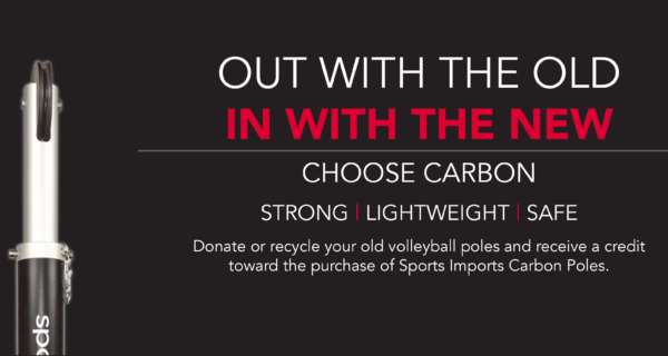 Sports Imports Carbon Volleyball Equipment
