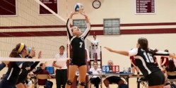 Volleyball player setter equipment Sports Imports Senoh AVCA