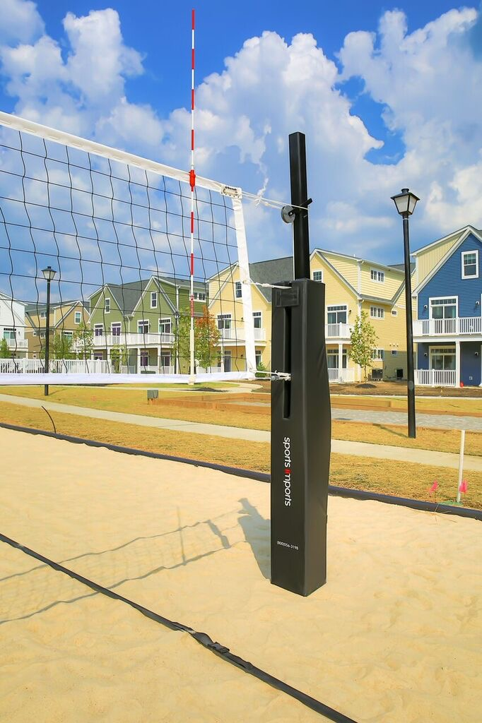 Beach Volleyball Net System, Safety Pads