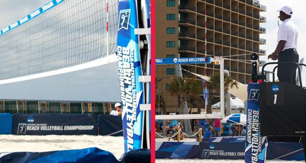 Beach Volleyball Referee Stand
