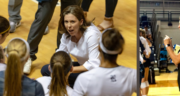 Genny Volpe Volleyball Coach