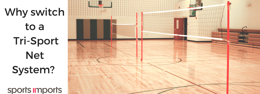 Why PE Teachers Need a Tri-Sport Net System for Mini-Volleyball Badminton and Pickleball