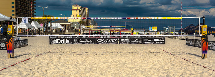 Beach Volleyball Net System, Beach Volleyball Poles, College Volleyball Poles
