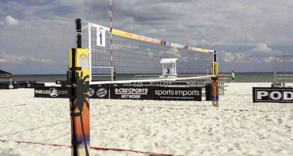 SV15 Beach Volleyball Net System