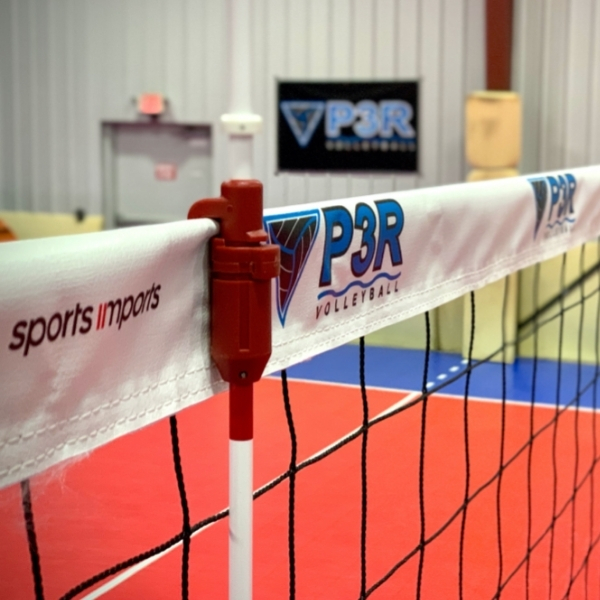 custom top net tape volleyball