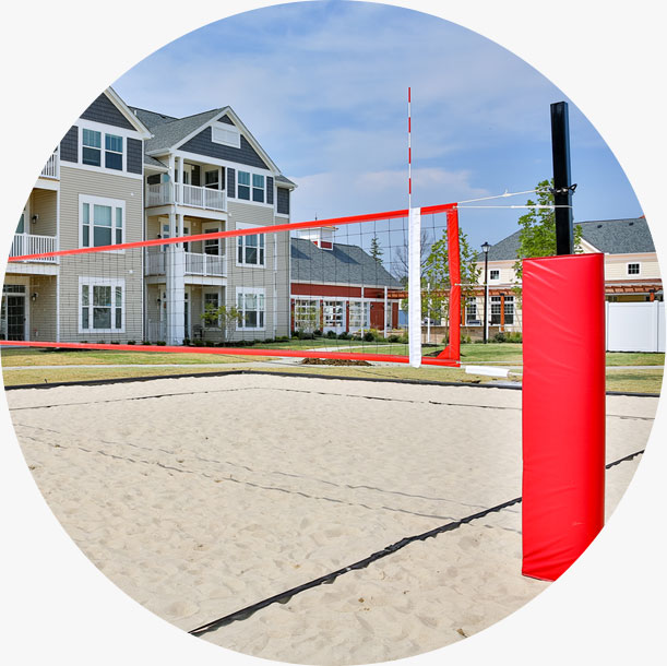 Sand Volleyball Net Systems for Parks & Rec