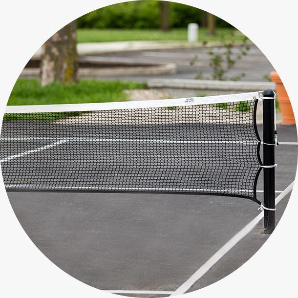 Outdoor Pickleball Net System