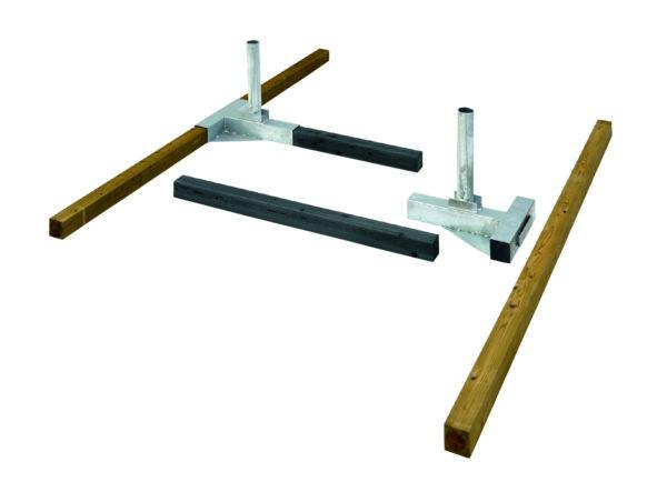 Senoh beach volleyball anchor system