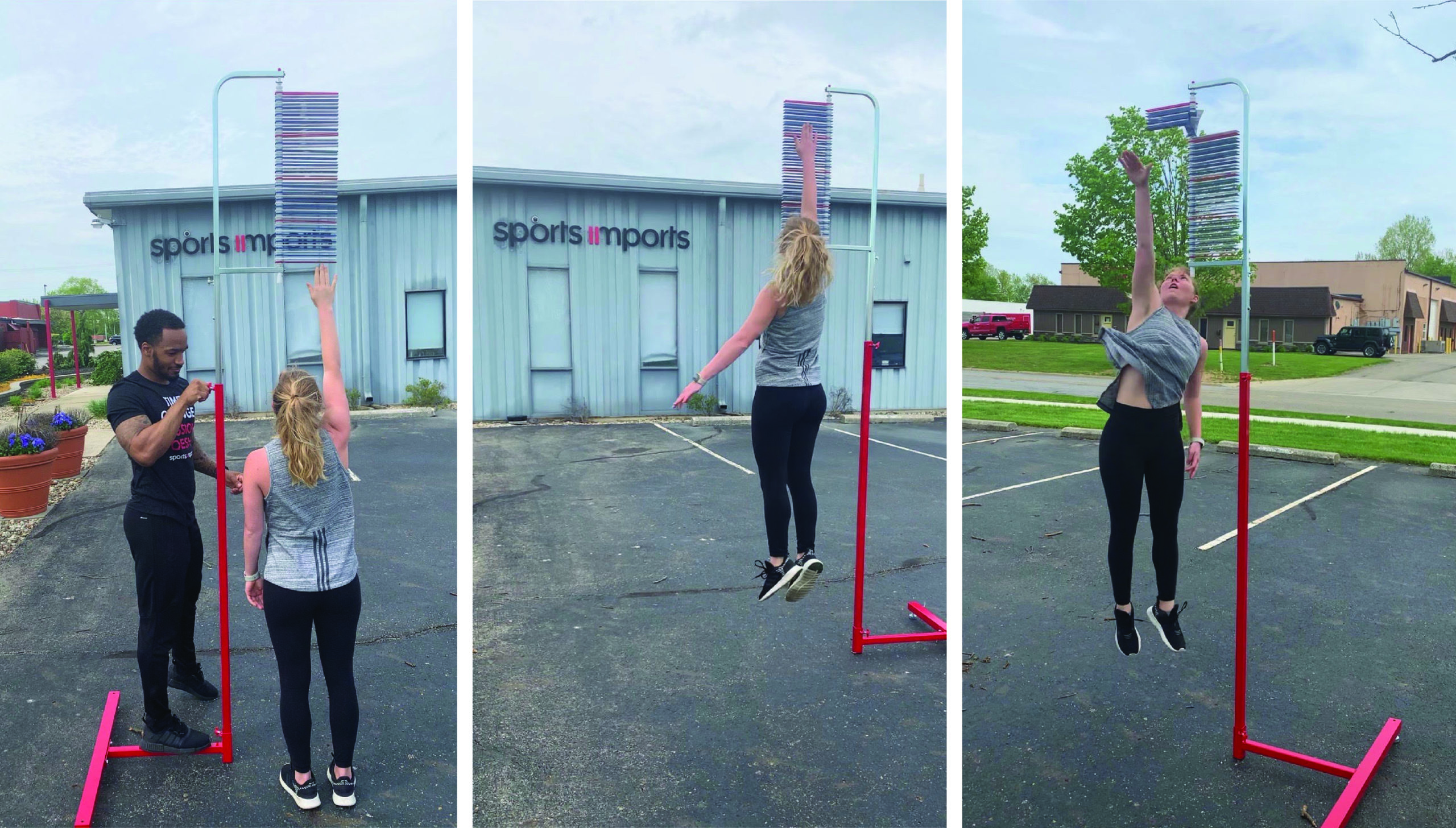 vertec jump training for volleyball