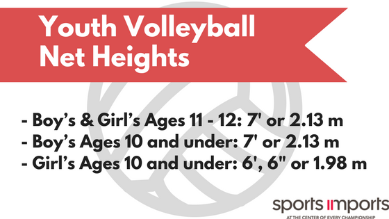 Youth Volleyball Net Heights Boy's and Girl's Teams